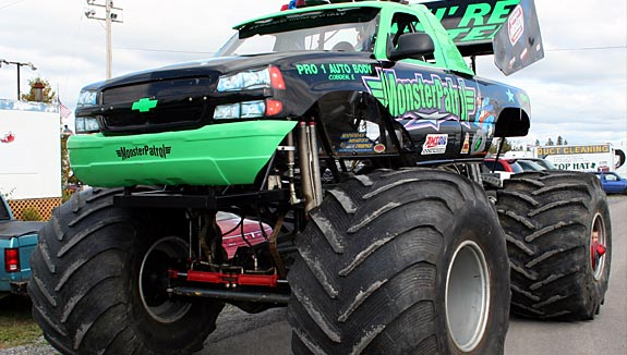 Budget of a monstertruck